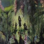 Single Mom, Öl auf Leinwand, 120 x 150 cm, 2014