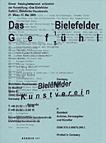 Das Bielefelder Gefühl, Bielefelder Kunstverein, Katalog 2009