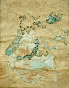 Lady Snowflake, Aquarell, 57 x 40 cm, 2009