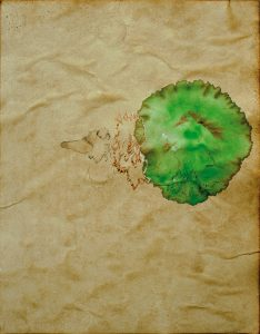 Verkündigung, Aquarell, 57 x 40 cm, 2009