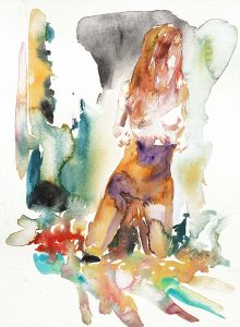 Artists choice, Aquarell, 38 x 28 cm, 2011