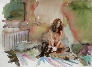 Artists choice, Aquarell, 28 x 38 cm, 2011