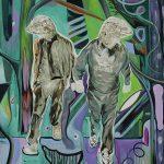 Chabos, Öl auf Leinwand, 160 x 130 cm, 2018