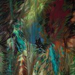 Kleine Spinner, Öl auf Leinwand, 160 x 120 cm, 2016