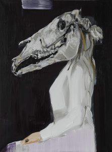 Metamorphose, Öl auf Leinwand, 80 x 60 cm, 2018