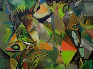 Walsrode, Öl auf Leinwand, 145 x 195 cm, 2015