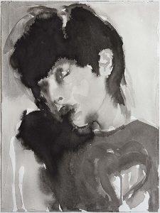 Black Love, Tusche, Aquarell, 32 x 23,5 cm, 2006