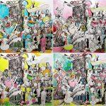 Nach dem Glück, Laserdruck, coloriert, je 30 x 40 cm, 2014