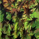 Schwarm, Öl auf Leinwand, 200 x 150 cm, 2011