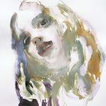 Neo Hippie, Aquarell, 76,5 x 57 cm, 2010