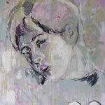Neo-Hippie, Öl auf Leinwand, 120 x 100 cm, 2019