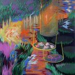 Am Fluss, Öl auf Leinwand, 200 x 160 cm, 2013