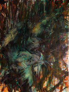 Hain, Öl auf Leinwand, 160 x 120, 2013