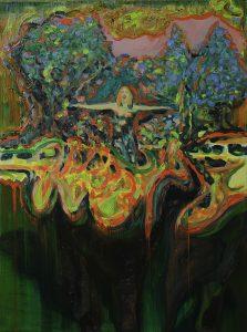 La Dompteuse, Öl auf Leinwand, 70 x 50 cm, 2018