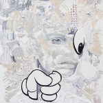 Look at me, Öl auf Leinwand, 120 x 100 cm, 2019