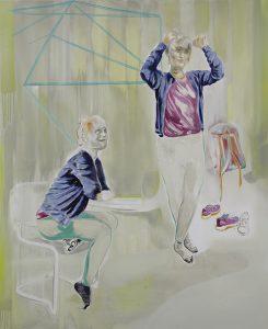 Carla, Oil on canvas, 160 x 130 cm, 2019
