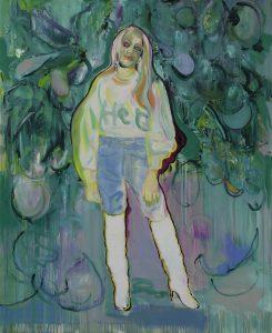 Coco, Oil on canvas, 160 x 130 cm, 2019