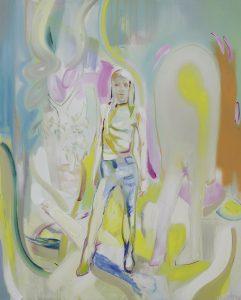 My sister, Oil on canvas, 160 x 130 cm, 2019