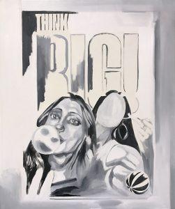 BIG, Oil on canvas, 120 x 100 cm, 2020