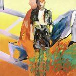 Alles immer schwierig, Oil on canvas, 160 x 130 cm, 2020
