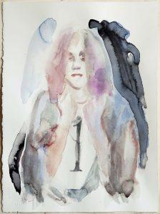 Girl No. One, Watercolour, 38 x 28 cm, 2020