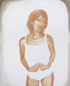 Portrait of Cecily, Oil on canvas, 160 x 130 cm, 2020