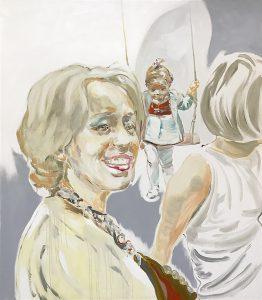 Perfekt zum Ziel, Oil on canvas, 160 x 140 cm, 2020