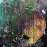 Der Garten, Oil on canvas, 100 x 80 cm, 2020