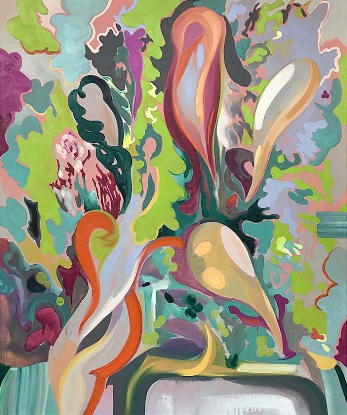 The parc, Oil on canvas, 120 x 100 cm, 2021
