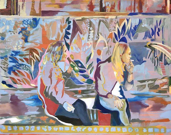 Beautiful Mind, Oil on Canvas, 160 x 200 cm, 2021