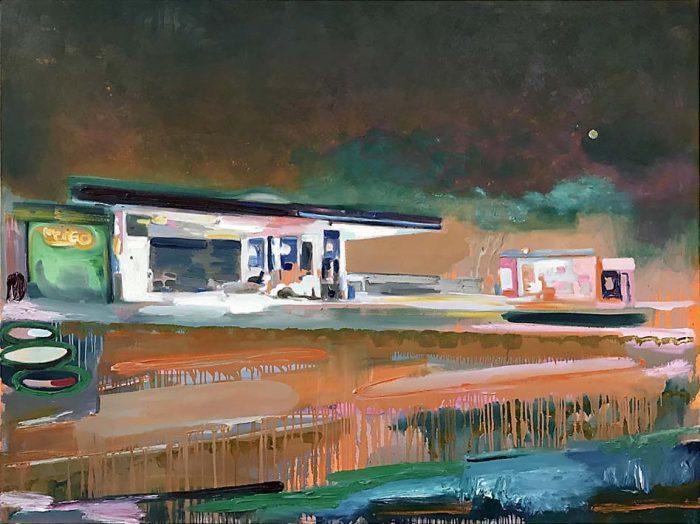 Wege zur Kunst Oil on canvas 150 x 200 cm, 2021