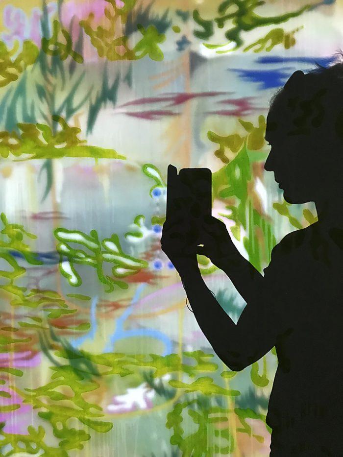 Selfportrait in studio