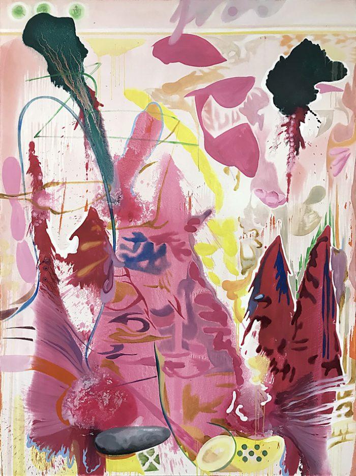 Strawberry Hills, Oil on canvas, 200 x 150 cm, 2021